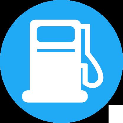 Borne carburant