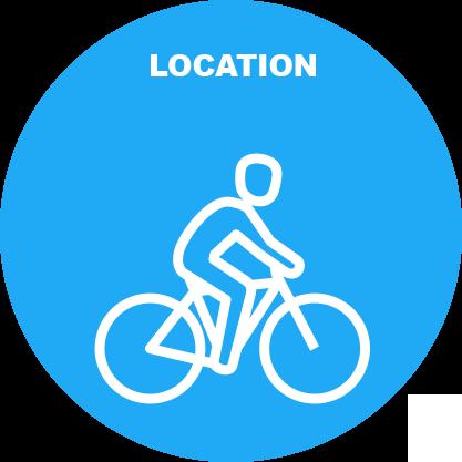 Point de location vélos