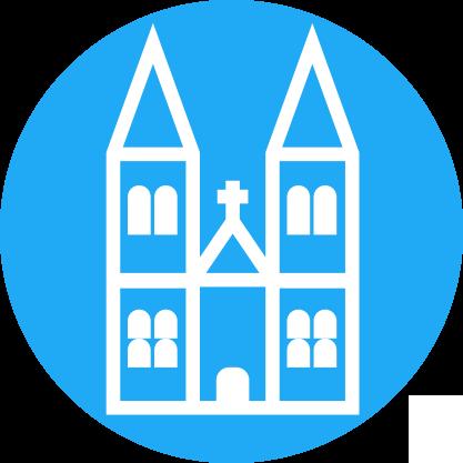 Patrimoine bâti remarquable : Eglise et abbaye